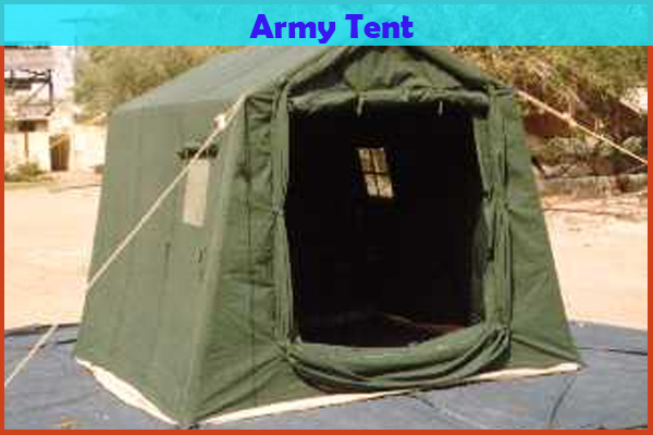 FEATURES & Army Tent manufacturer Exporter Supplier in Ahmedabad India ...